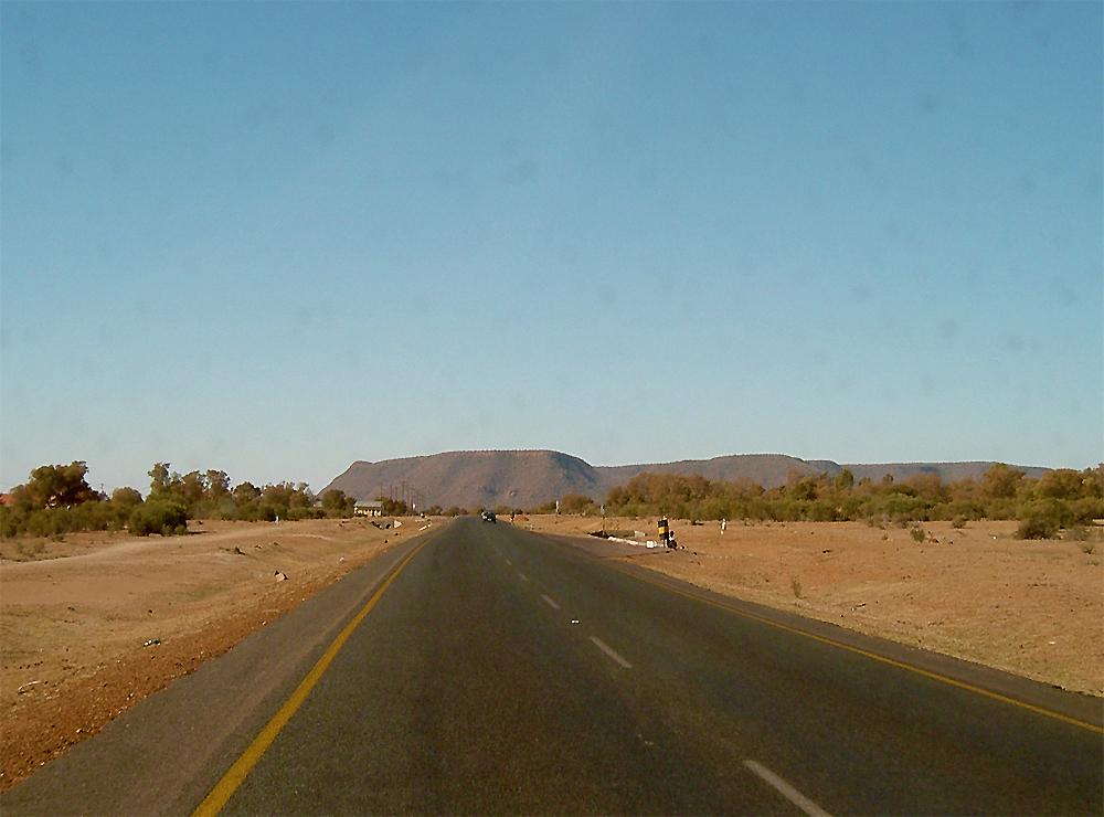 colline au botswana