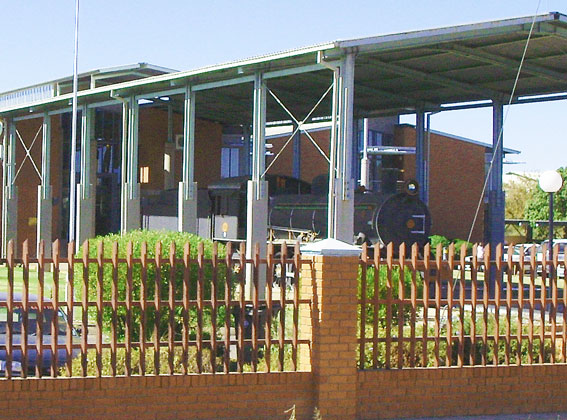 botswana train