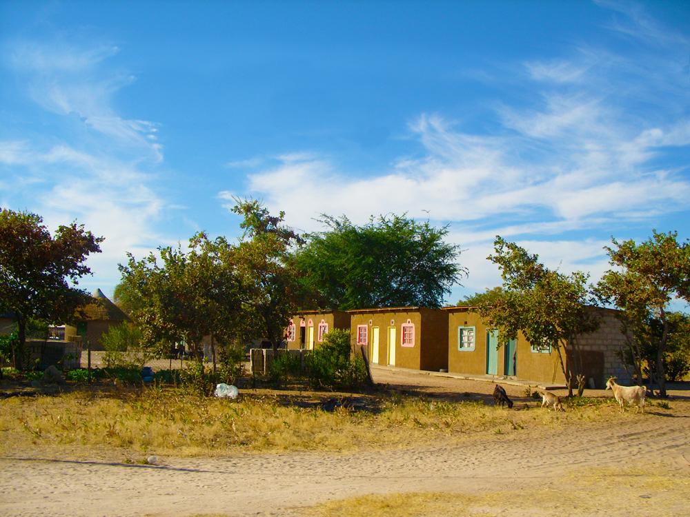 maison au botswana