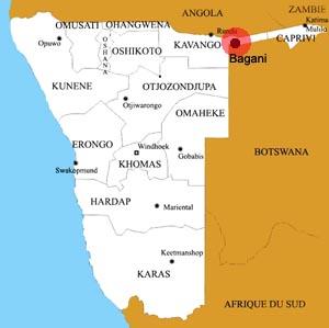 bagani location