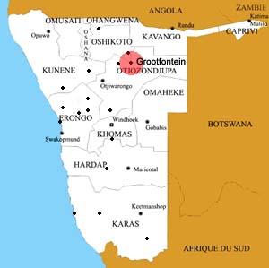 grootfontein location