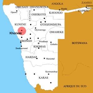 Khorixas location