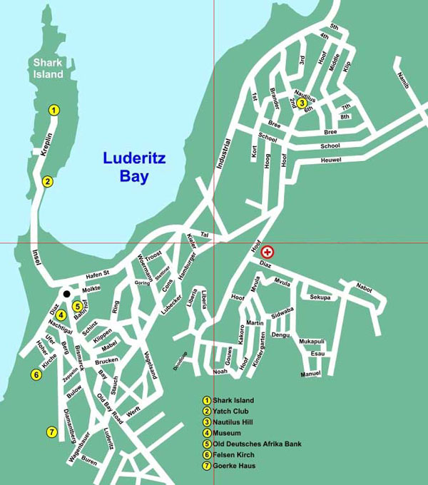 Luderitz map