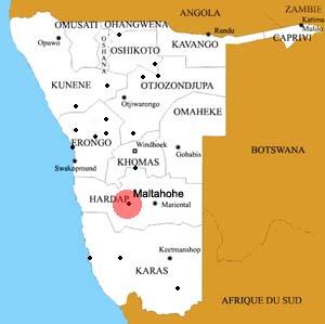 Maltahohe location