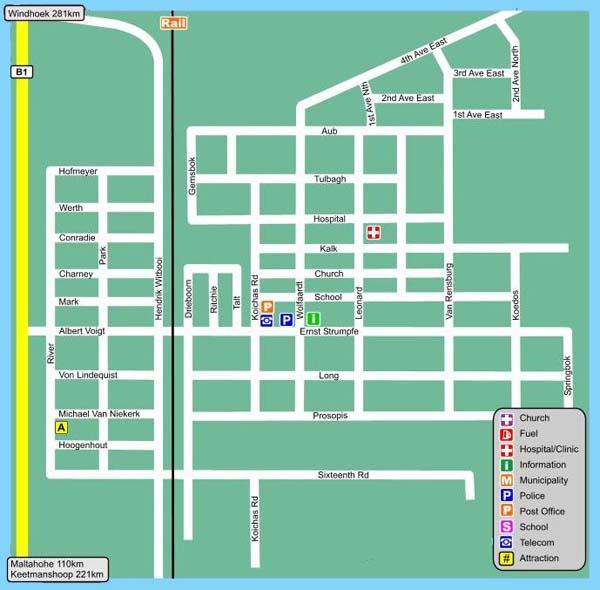 Mariental map