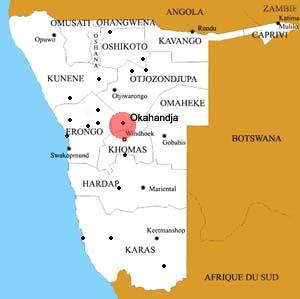 Okahandja location