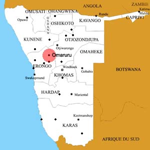 Omaruru location