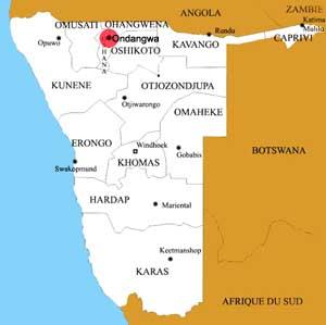ondangwa location