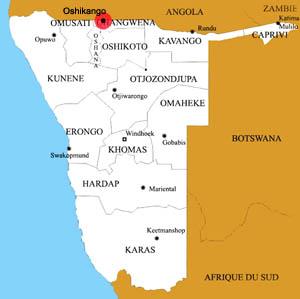 oshikango location