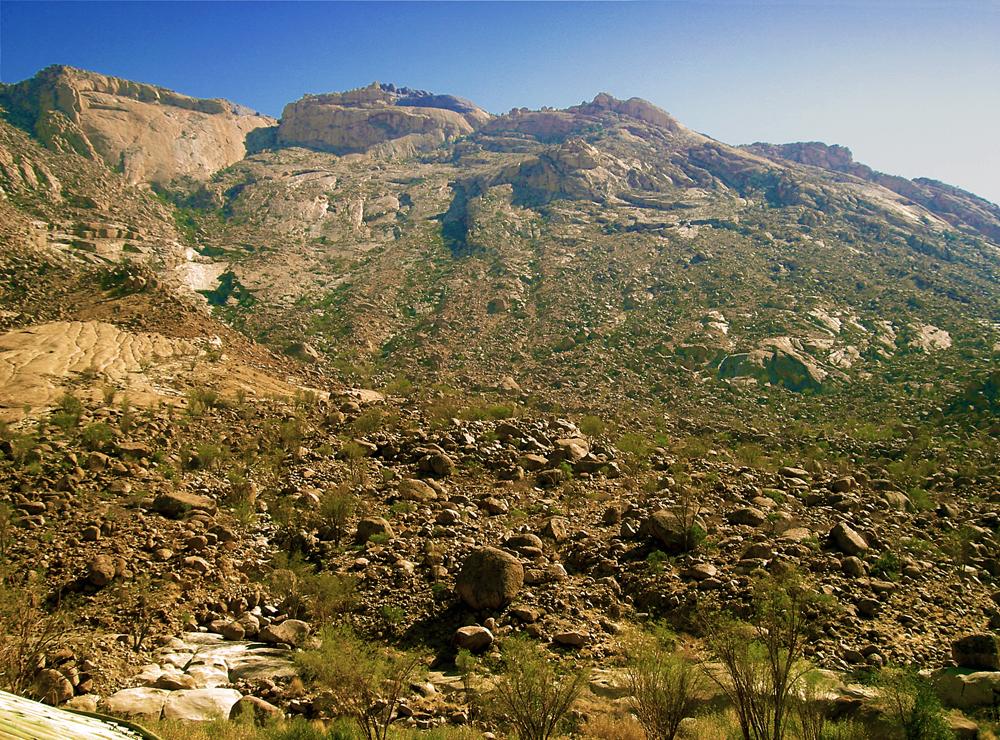 Namibia's highest mountain