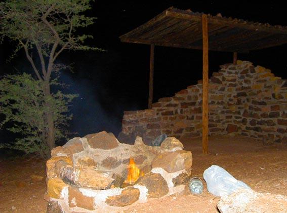 Brukkaros campsite