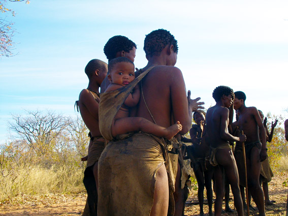enfant bushman