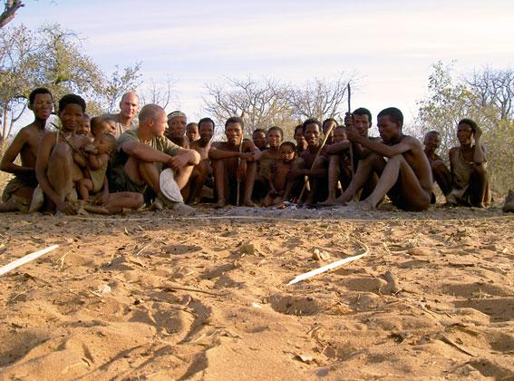 journey with the Bushmen