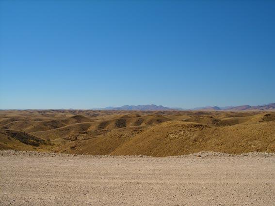 Erongo landscape