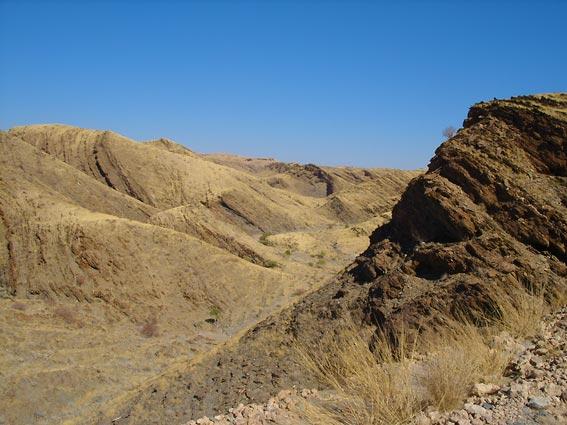 Namibia landscape : Kuiseb Canyon