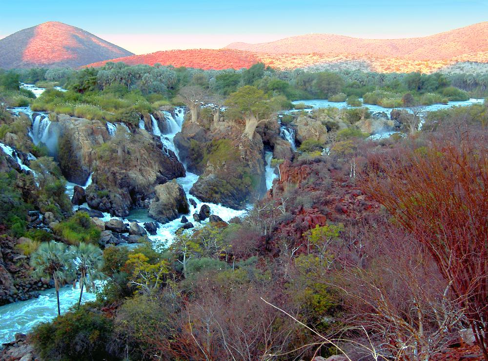 paysage epupa falls