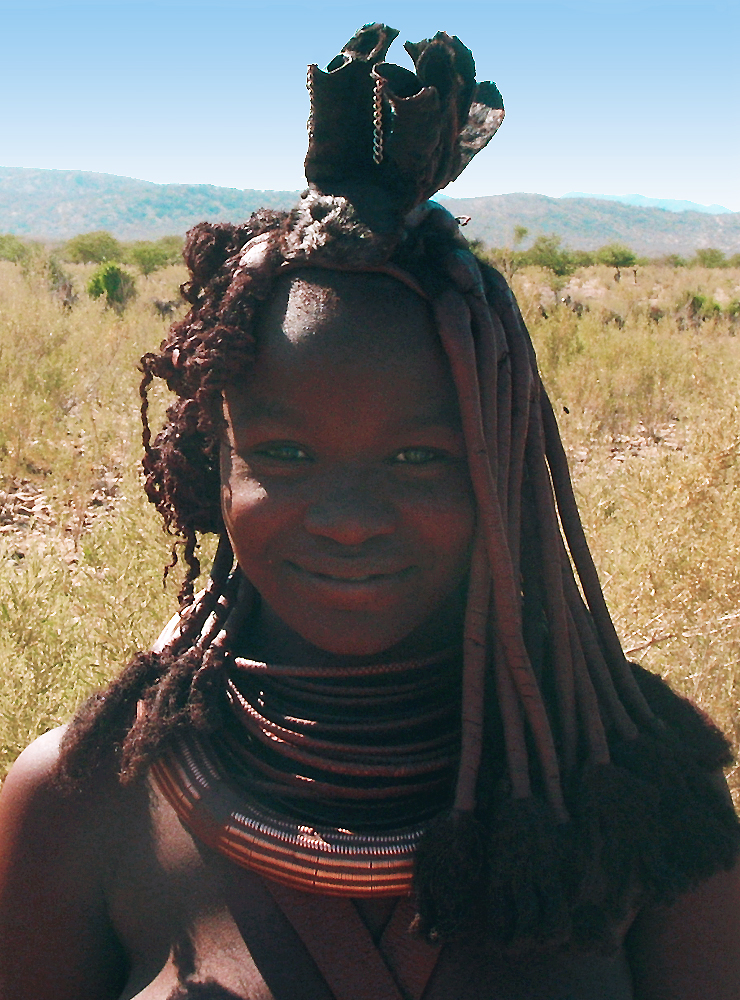 Woman of himba people