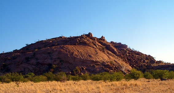 Landscape of Kaokoland