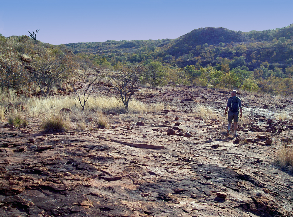 hiking in Waterberg