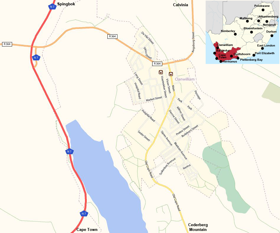 Clanwilliamstreet map