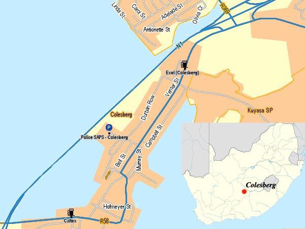 Colesberg map