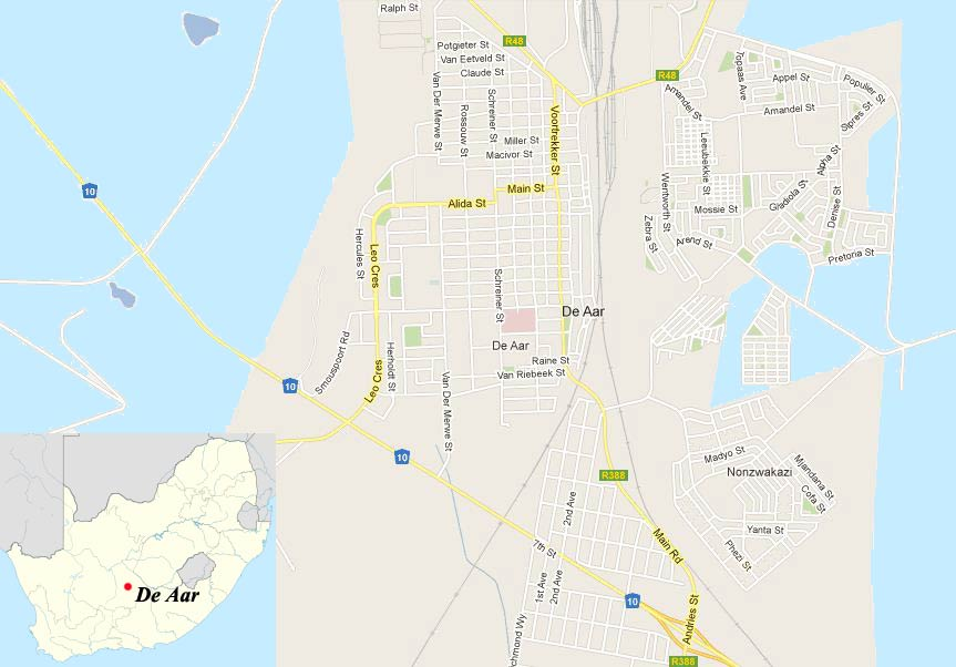 De Aar Travel Guide : Accommodation | Tourist information
