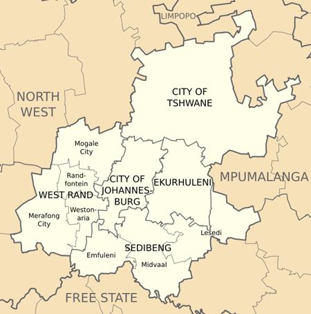Gauteng Province Travel Guide Accommodation Tourist information