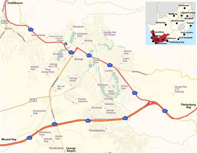 George map
