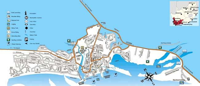 Plettenberg Bay map