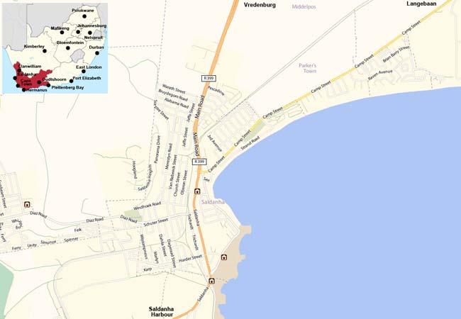 Saldanha map