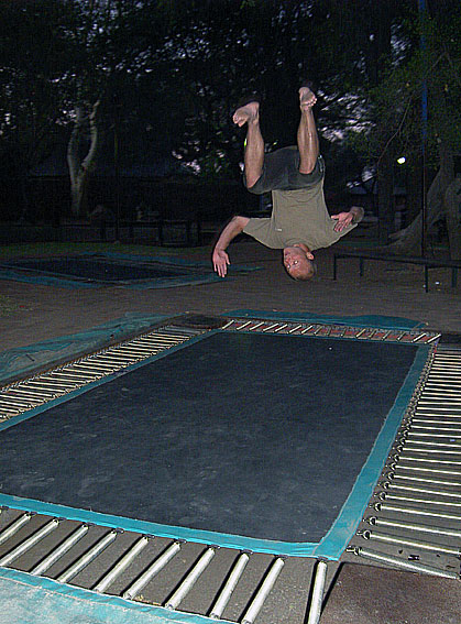 trampolining south africa