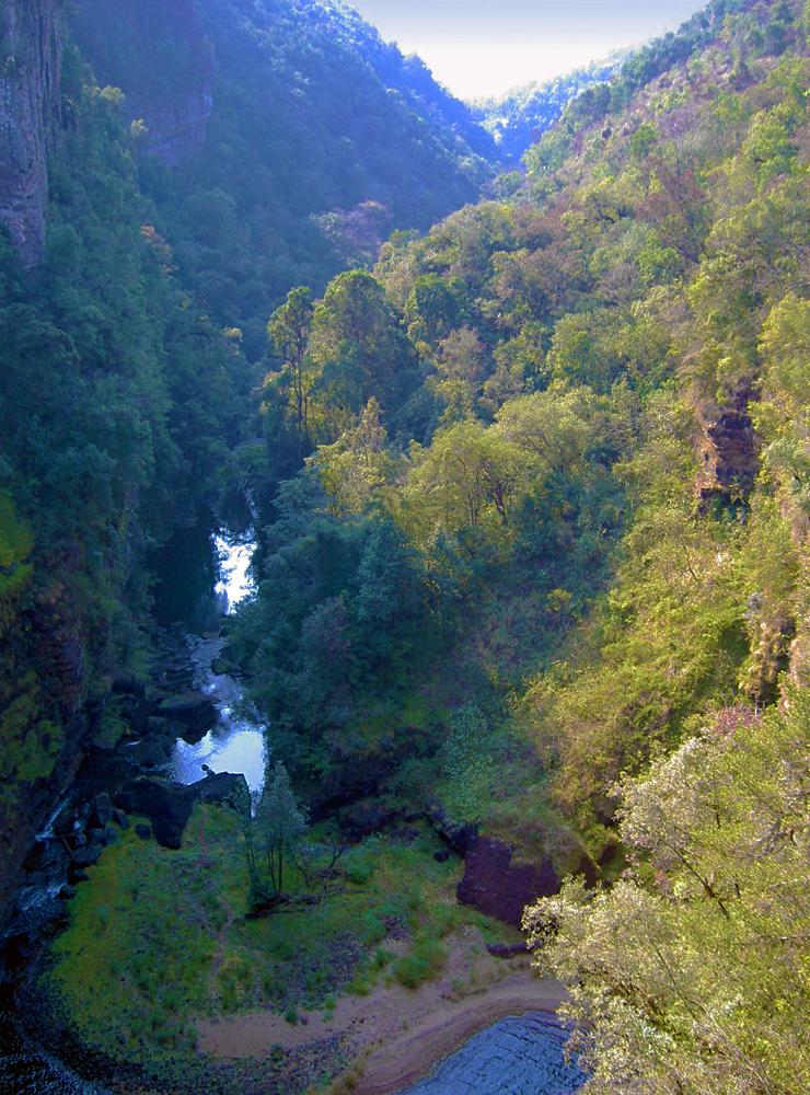 Canyon of Mac Mac Falls